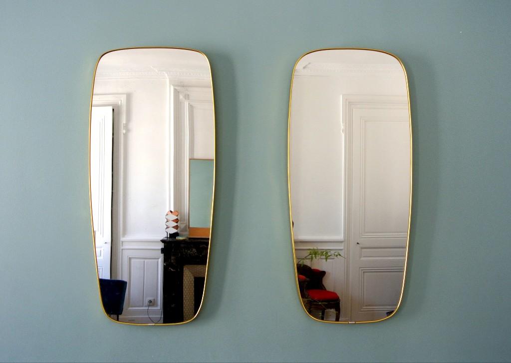 Miroir Année 50 miroirs italiens années 50